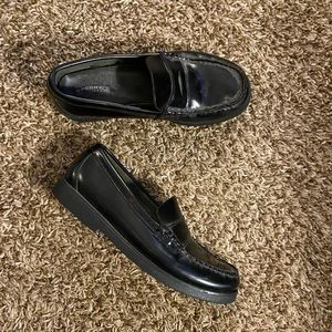 Sperry Colton penny loafers dress shoes 5M boys